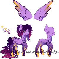 Galaxy Dust adopt (O2A) (closed) by Danie-mesAdopts