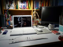 """My """"Desk""""Top by SL05NED"""