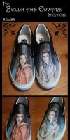 Bella x Edward Vans by MelZayas
