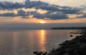 sunset, the Gulf of Finland 2 by KaterinaRaed