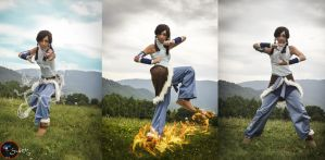 The new avatar - The legend of Korra by Neigeamer