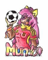 Confederations Cup Badge: MJ ''Mundiena'' by MundienaDog