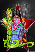 Zapatista Women by Denial616