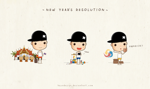 New Year's Resolution by kusodesign