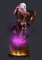 Voodoo Swamp Witch by kennymap