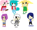 Chibi Personality Adoptables! (2 in stock!) by Saviour-Of-The-Fate