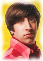 Simon Helberg       Wolowitz by Condorinka77