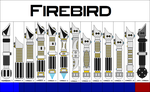 Derek's Firebird Lightsaber versions by FirebirdPhoenix87