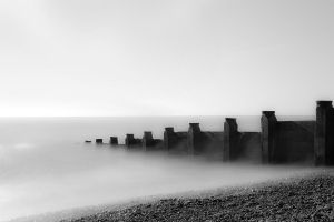 East Sussex Sea Groyne by mariagendelman