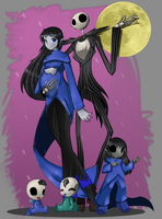 A Nightmare Before Christmas Family by bigsheezy