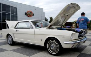 64 Mustang Ford Celebrates 45 by TheCarloos