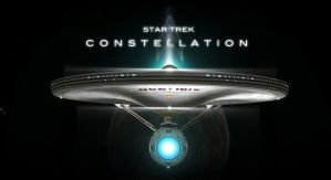 STAR TREK CONSTELLATION FILM POSTER by PUFFINSTUDIOS