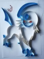 Absol by AlmostBlueKitty
