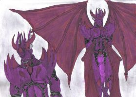 Tyrant. A Behemoth in amethyst by Gall-4185