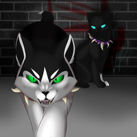 Scourge and Bone (Speedpaint) by DrakynWyrm