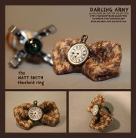 Timelord Ring - Matt Smith - Darling Army by DarlingArmy