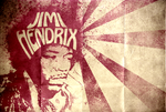 Jimi Hendrix by elcrazy