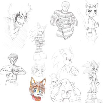 Random Sketches by ss2sonic