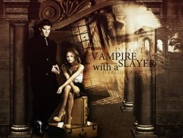 A Vampire in love with a Slayer... by JuliaAngels