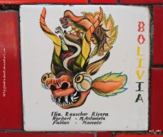 Bolivian tile by andreshanti