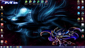 My Current Desktop by Saphfire321