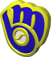C4D Brewers Throwback Logo by theDukeofTank