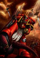 Warhammer:' For Sanguinius'. by ARTOFJUSTAMAN