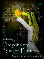 Dragons are Bunsen Burners by twistedndistorted