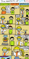 The Adventures Of James and Ed #2 Science! by GothicTaco198