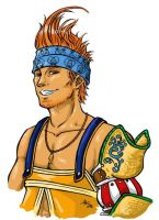 Wakka...again... by Death2Moogles