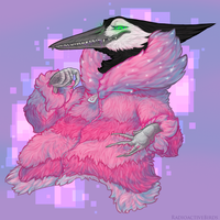 Fab in Pink by RadioactiveBirds