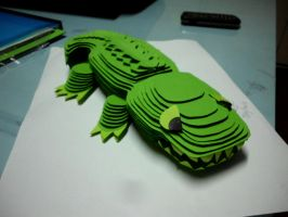 :William the Crocodile: by PrePAWSterous