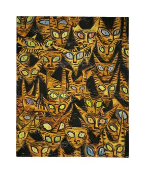 Tarrie Cat Army by CliveBarker