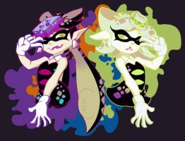 Squid Sisters by Dia-Dark