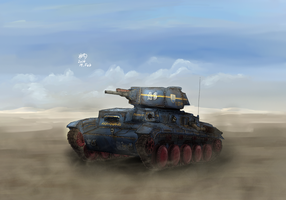 MelPazelian Fire Support Vehicle Janissary by Waffle0708