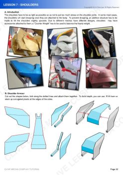 Gundam mecha cosplay tutorial - Lesson 7 - 1 by Clivelee