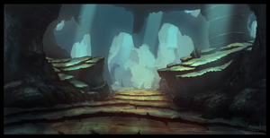 Fantasy Cave by famalchow