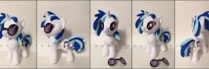 Plushie: DJ Pon-3 - My Little Pony: FiM by Serenity-Sama