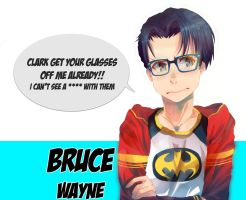 Bruce Wayne by 3kitty9