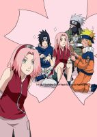 Team 7- Sakura Princess by BotanofSpiritWorld