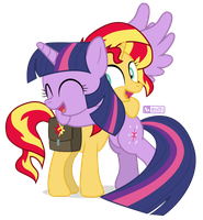 Sunset's Back! by dm29