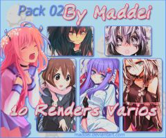 Segundo Pack de Renders by Maddei