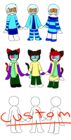 Triplet Adopts 1 (CLOSED) by shroomysadopts