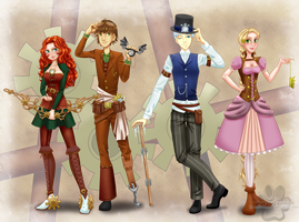 TB4: Steampunk by TheNekoHufflepuff