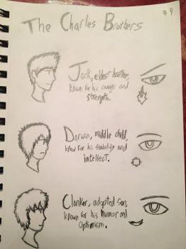 #9 The Charles Brothers by dissapointinglysad