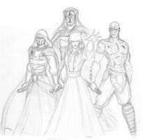 KOTOR II Legacy concept sketch by JosephB222
