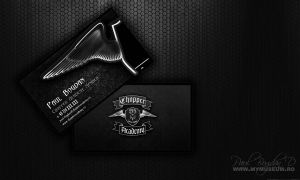 Chopper Academy Business Cards by dpaulo