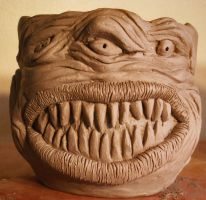 SCARY MONSTER PUMPKIN MUG by CorazondeDios