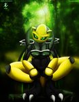 Jungle Wasp collab by Ionic44
