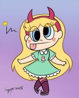 Little Star by capcappucca222